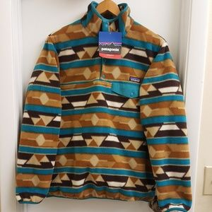 New with tags Rare Patagonia synchilla fleece Sz M